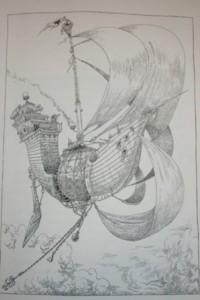 ... und das ist das Originalschiff aus dem Buch!